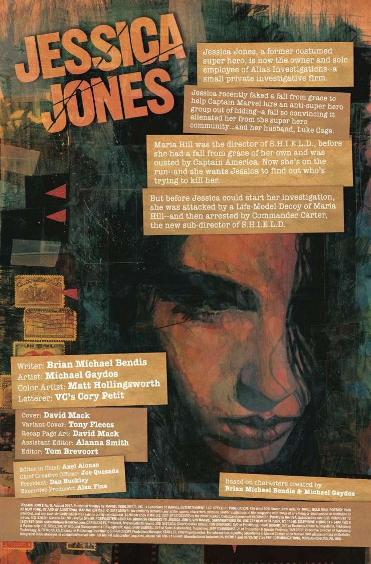 Marvel Preview: Jessica Jones #9