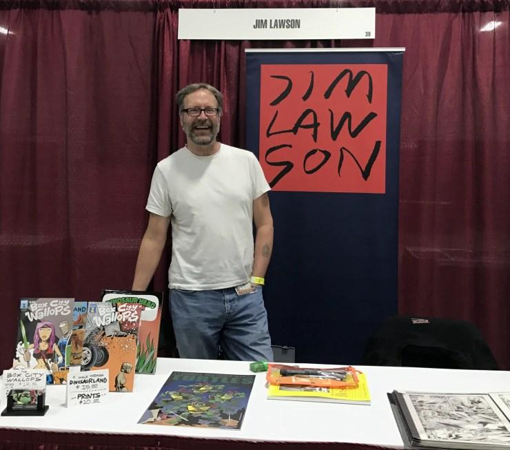 Kickstarter Alert: TMNT Legend Jim Lawson Talks 'The Box City Wallops'