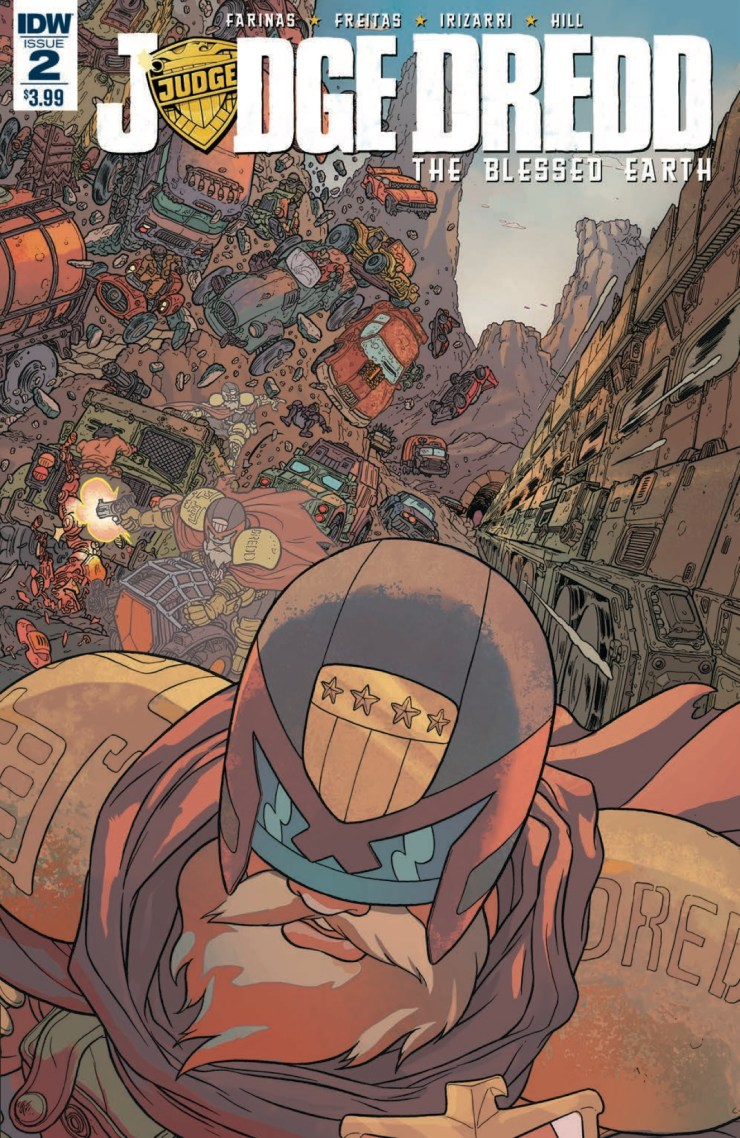 [EXCLUSIVE] IDW Preview: Judge Dredd: The Blessed Earth #2