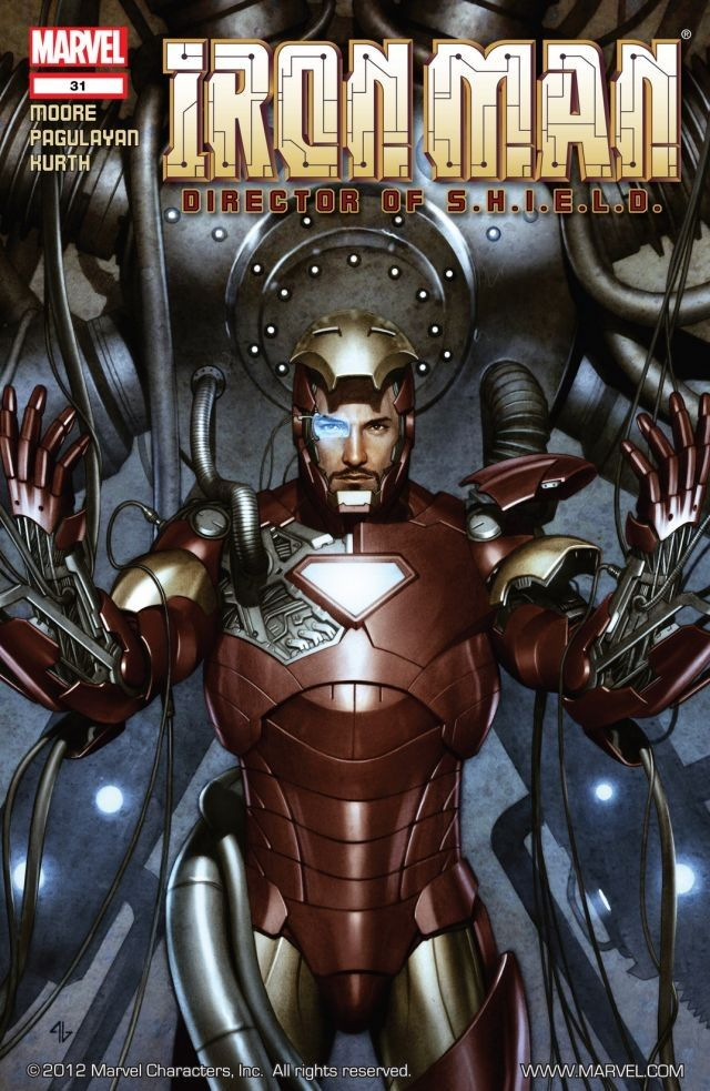 Science Fiction Spy with a Twist: 'Iron Man: Director of S.H.I.E.L.D. - The Complete Collection' Review