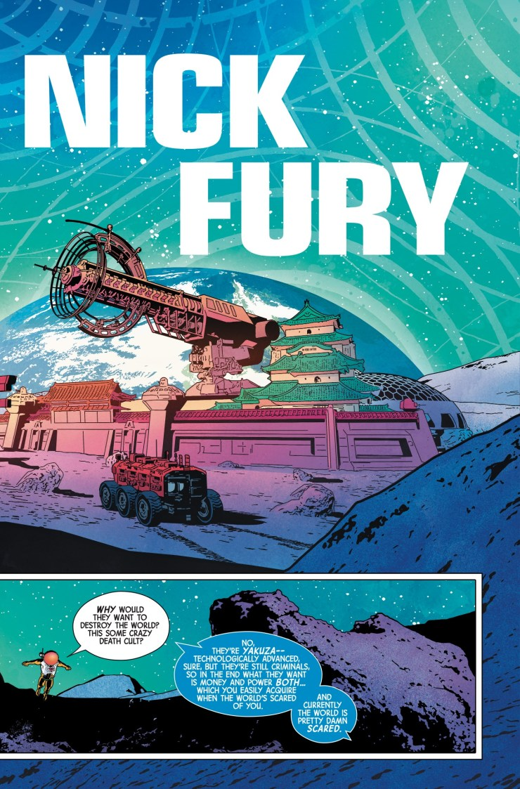 Marvel Preview: Nick Fury #2