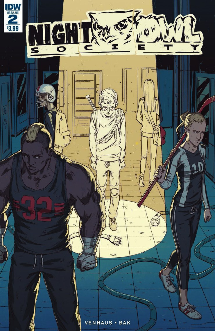 [EXCLUSIVE] IDW Preview: Night Owl Society #2