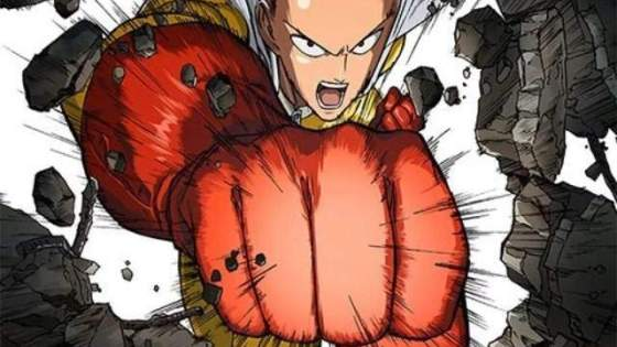 While many animes have found success using the formula of a character that slowly gets stronger and takes on increasingly powerful threats, One Punch Man does the opposite.  Saitama, the protagonist of the series, starts off incredibly powerful from the get-go.  In fact, he's so powerful that he can defeat any challenger with one punch.  This has left him feeling empty and numb, as there is no longer any challenge to being a hero and he longs to find a worthy challenger.  The first season (12 episodes, 6 OVA's) is now available from Viz media on Blu-ray, with a full English cast.