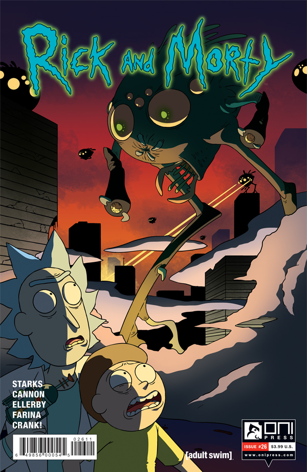 Rick and Morty #26 Review