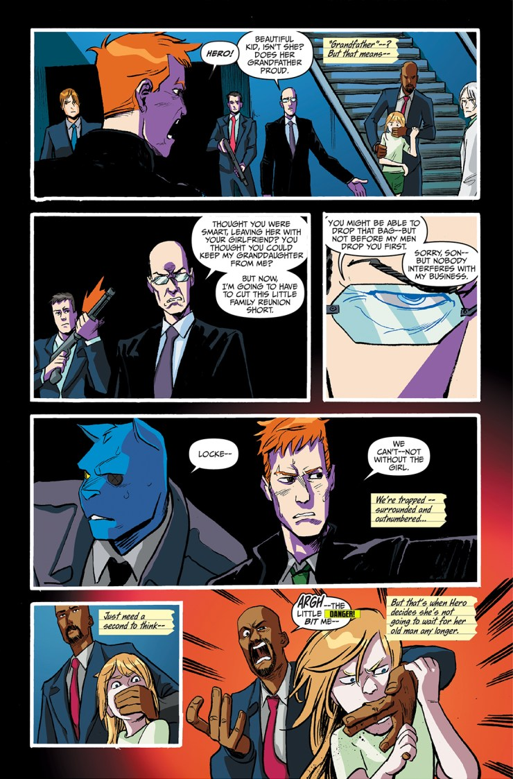 Action Lab Preview: Spencer & Locke #4