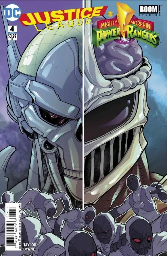 Justice League/Power Rangers #4 Review