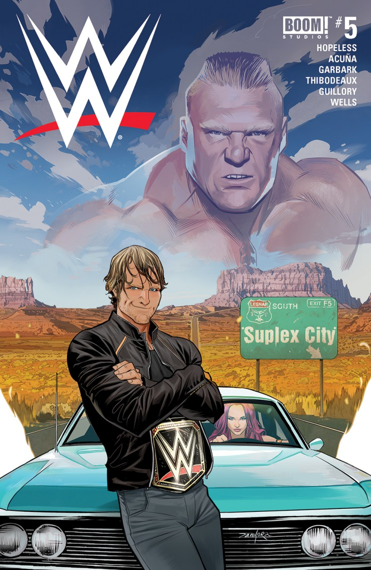 BOOM! Preview: WWE #5