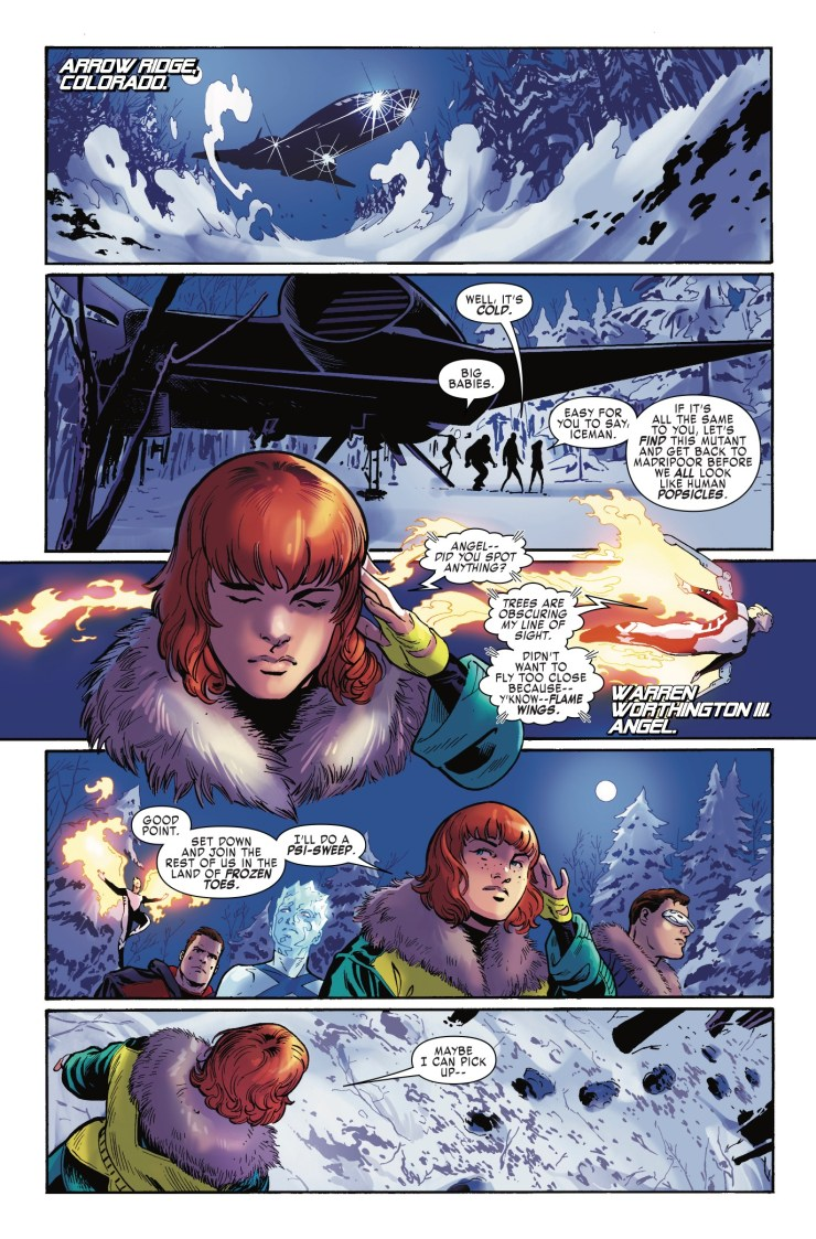 Marvel Preview: X-Men: Blue #4