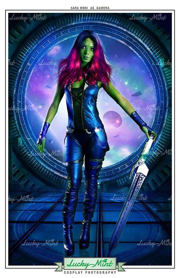 Guardians of the Galaxy: Gamora Cosplay by Sara Moni
