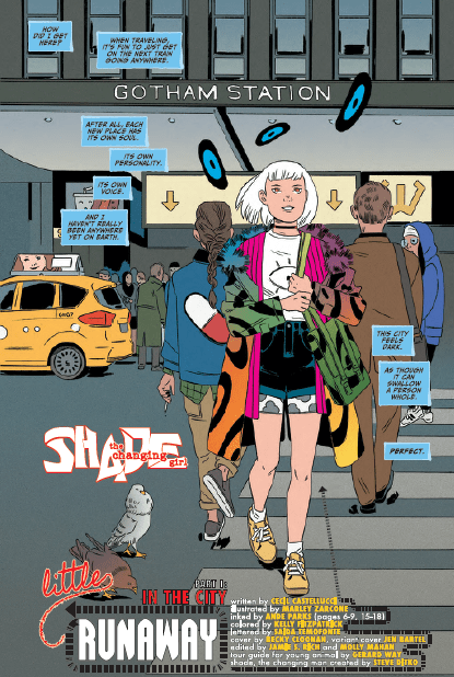 Shade, the Changing Girl #8 Review