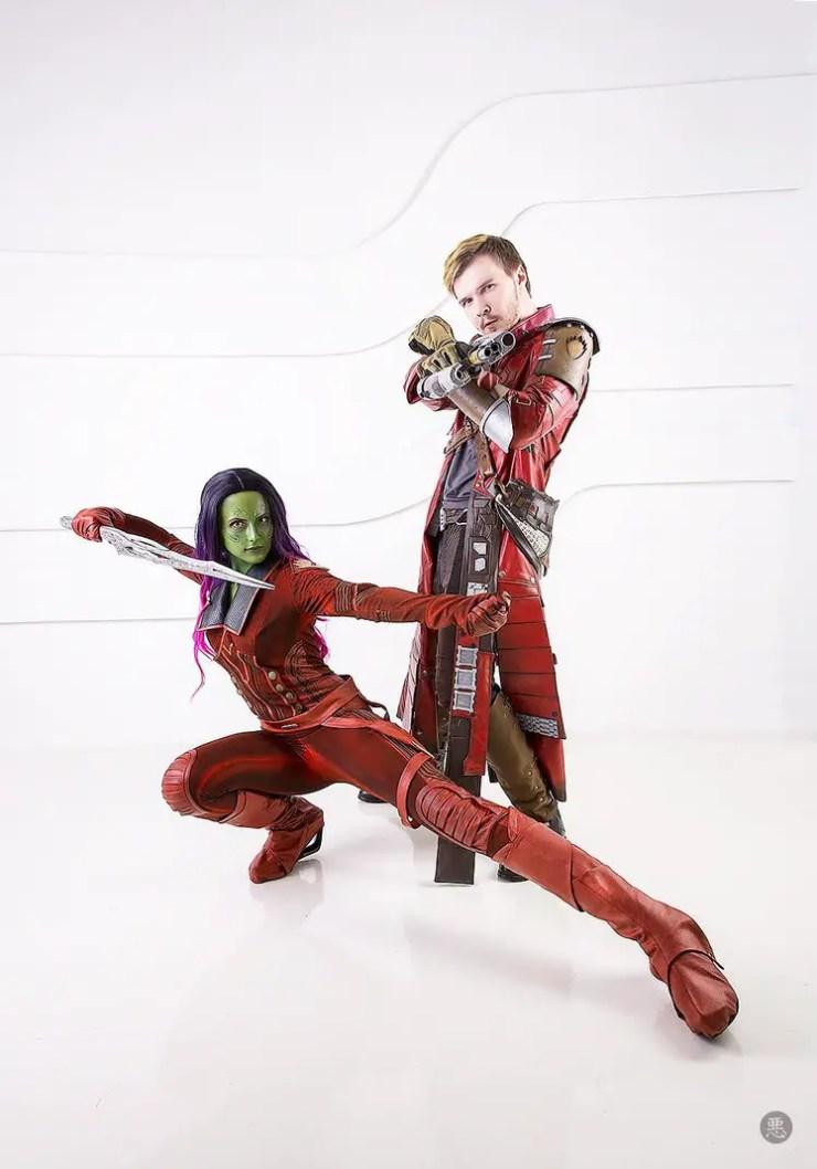 Guardians of the Galaxy Cosplay by Niamashina, Sunji and Ichi