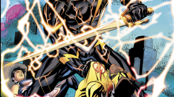 """Teen Titans Annual comes in strong with the finale of """"The Lazarus Contract."""" Deathstroke has achieved his goal by going back in time and reuniting with his son to prevent him from being killed in fight with the Teen Titans."""