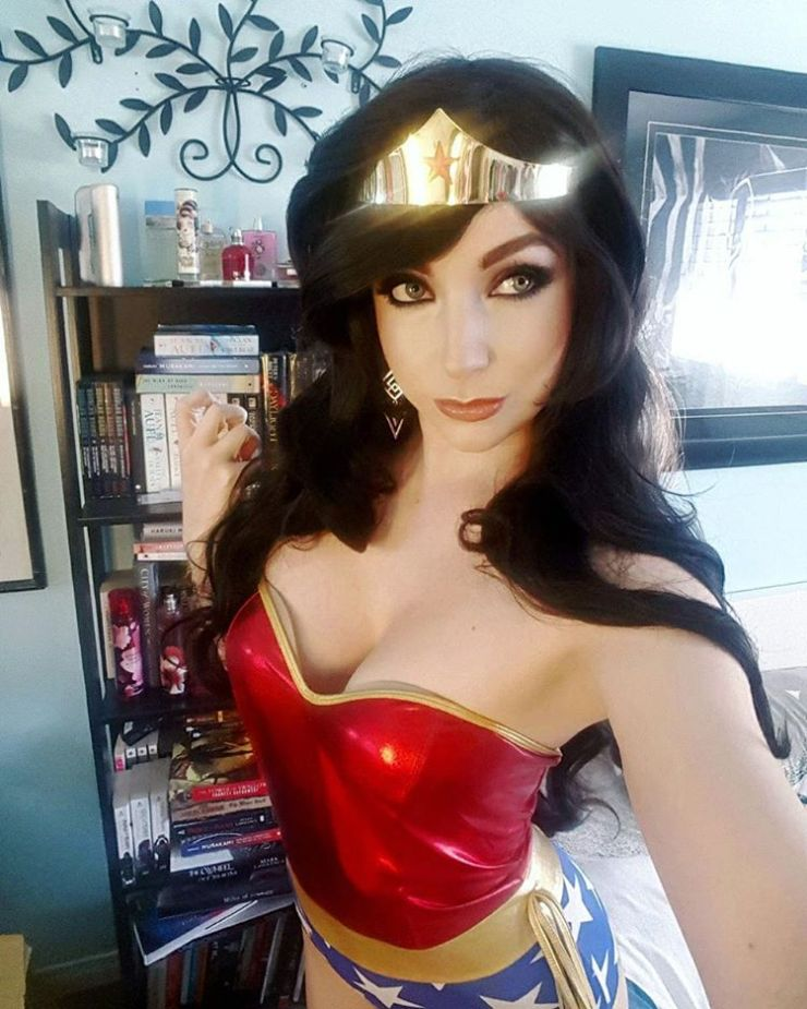 The Wonder Woman movie hits theaters on June 2nd -- and we're keeping on with our favorite Wonder Woman cosplay offerings to celebrate.  Yesterday we featured Jenifer Ann's classic and movie costumes and today we feature Cosplay Butterfly, who not only offers an alluring look at the traditional costume but a fun, vintage bombshell bikini variation as well: