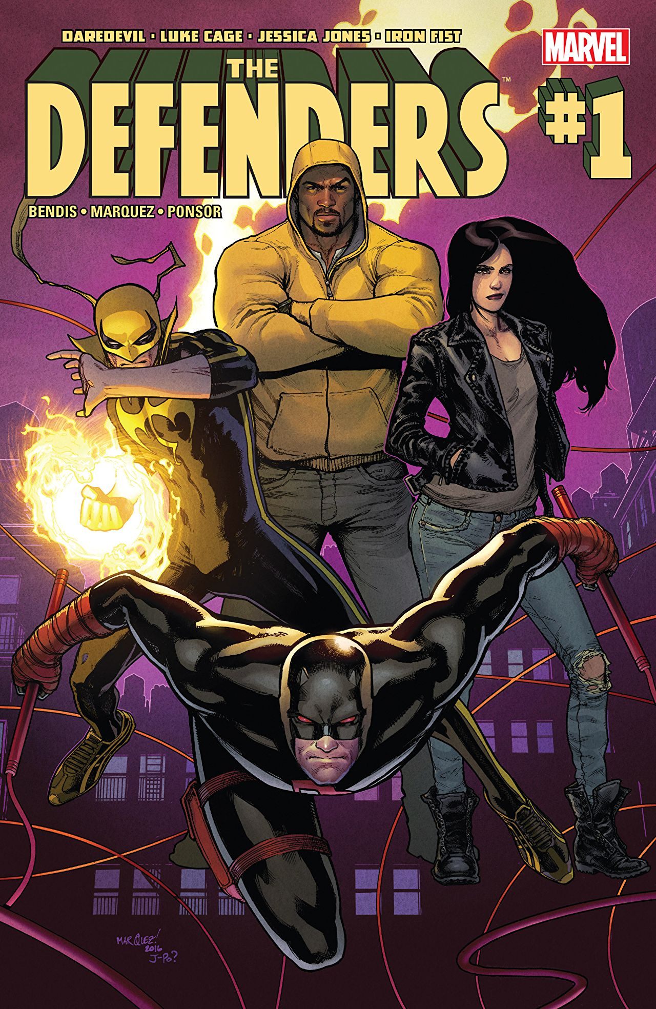 The Defenders #1 Review