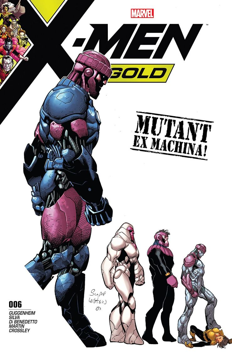 The Sentinel-based A.I.-enabled nanotech storm is laying waste to New York City, and it's up to the heroes of the Marvel Universe to put a stop to it. Can the combined efforts of the X-Men, the Champions, The Defenders and the Avengers repel this swarming menace? Why is it that the X-Men are the only team with psychics?