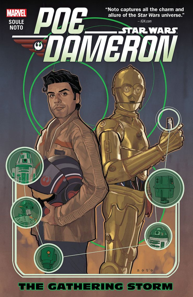 'Star Wars: Poe Dameron Vol. 2: The Gathering Storm' digs up the past and lays groundwork for the future
