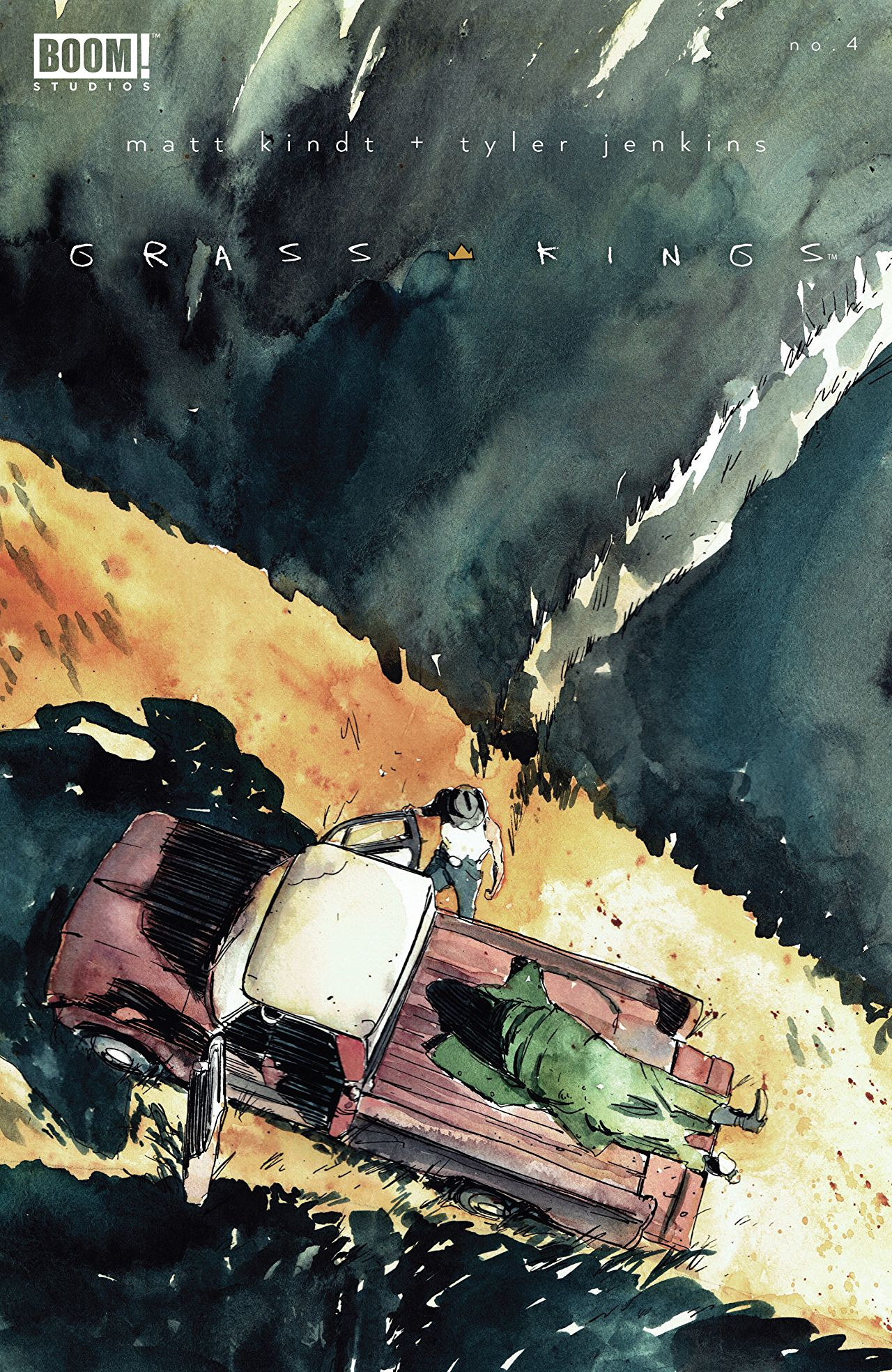 Grass Kings #4 Review