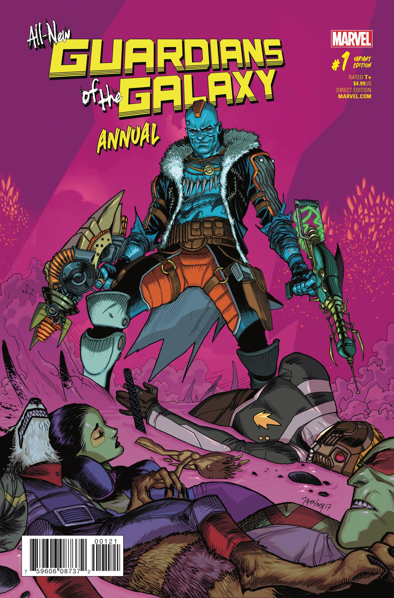 All-New Guardians of the Galaxy Annual #1 Review