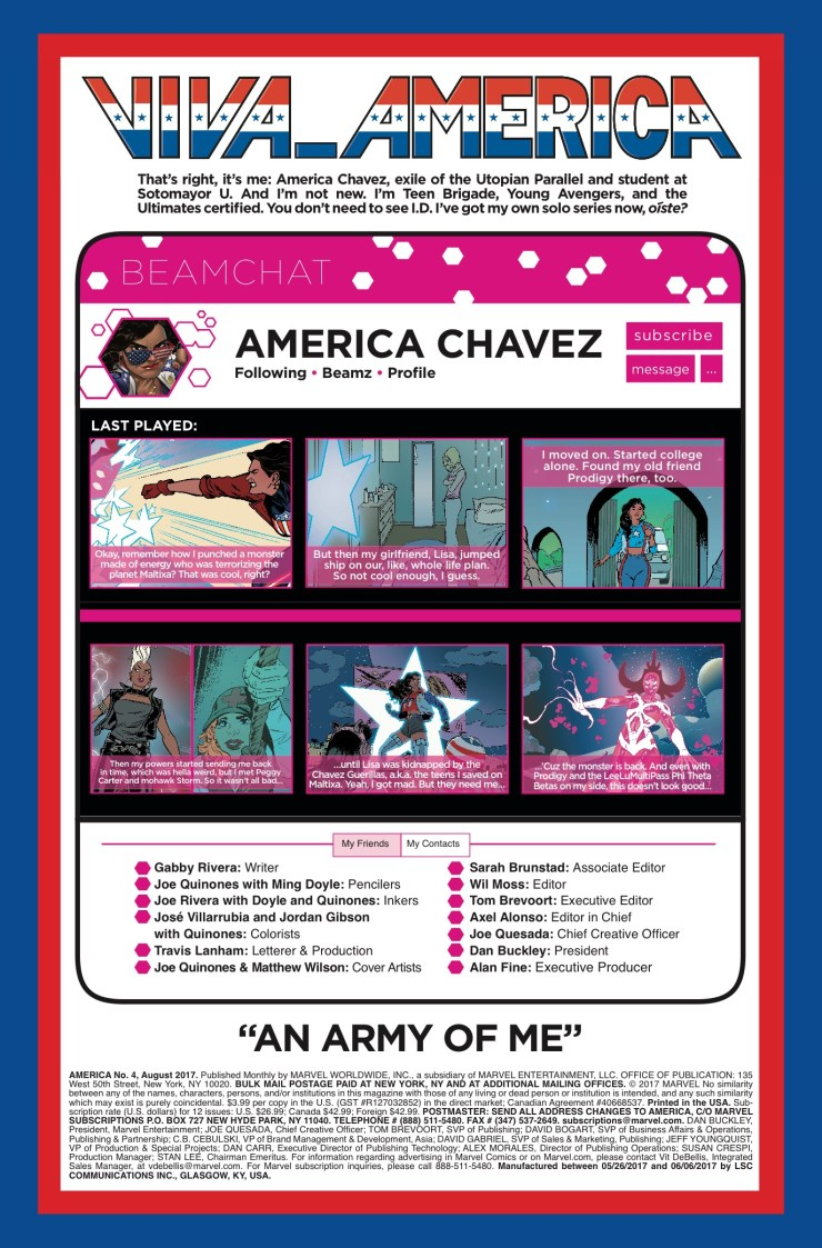 Marvel Preview: America #4