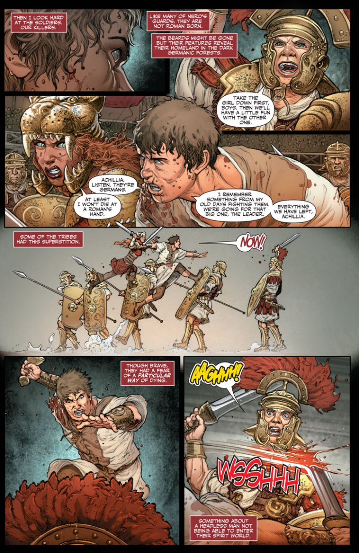 [EXCLUSIVE] Valiant Preview: Britannia: We Who Are About to Die #3