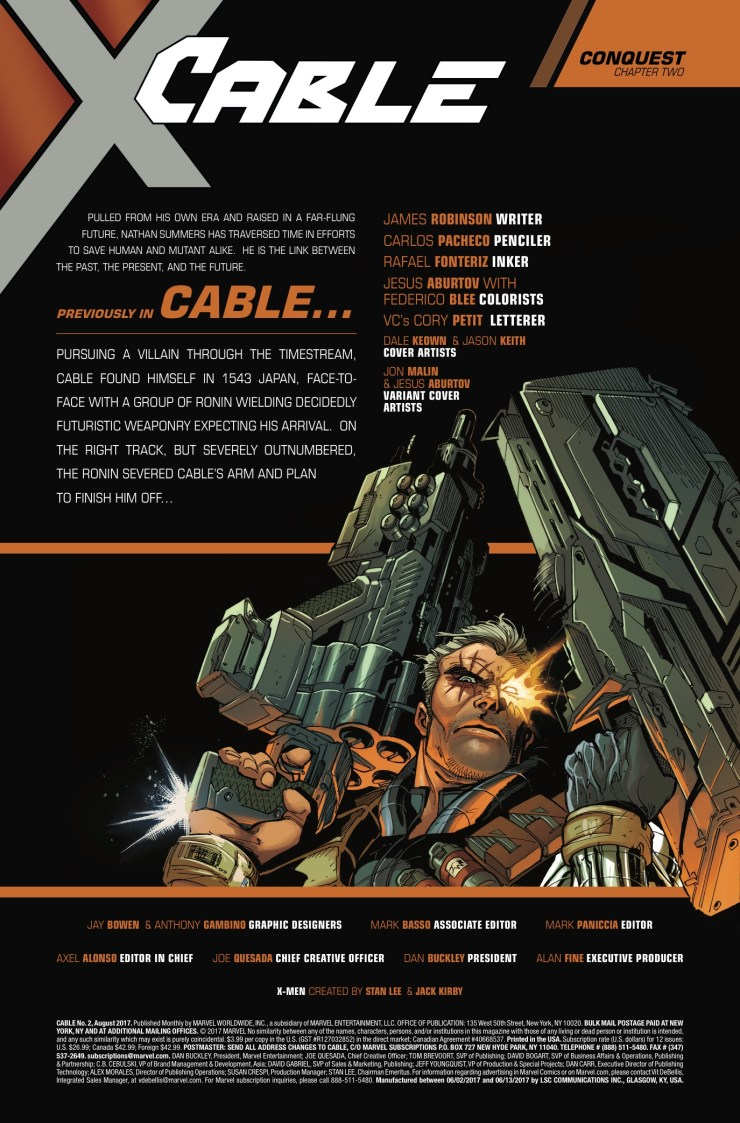 Marvel Preview: Cable #2