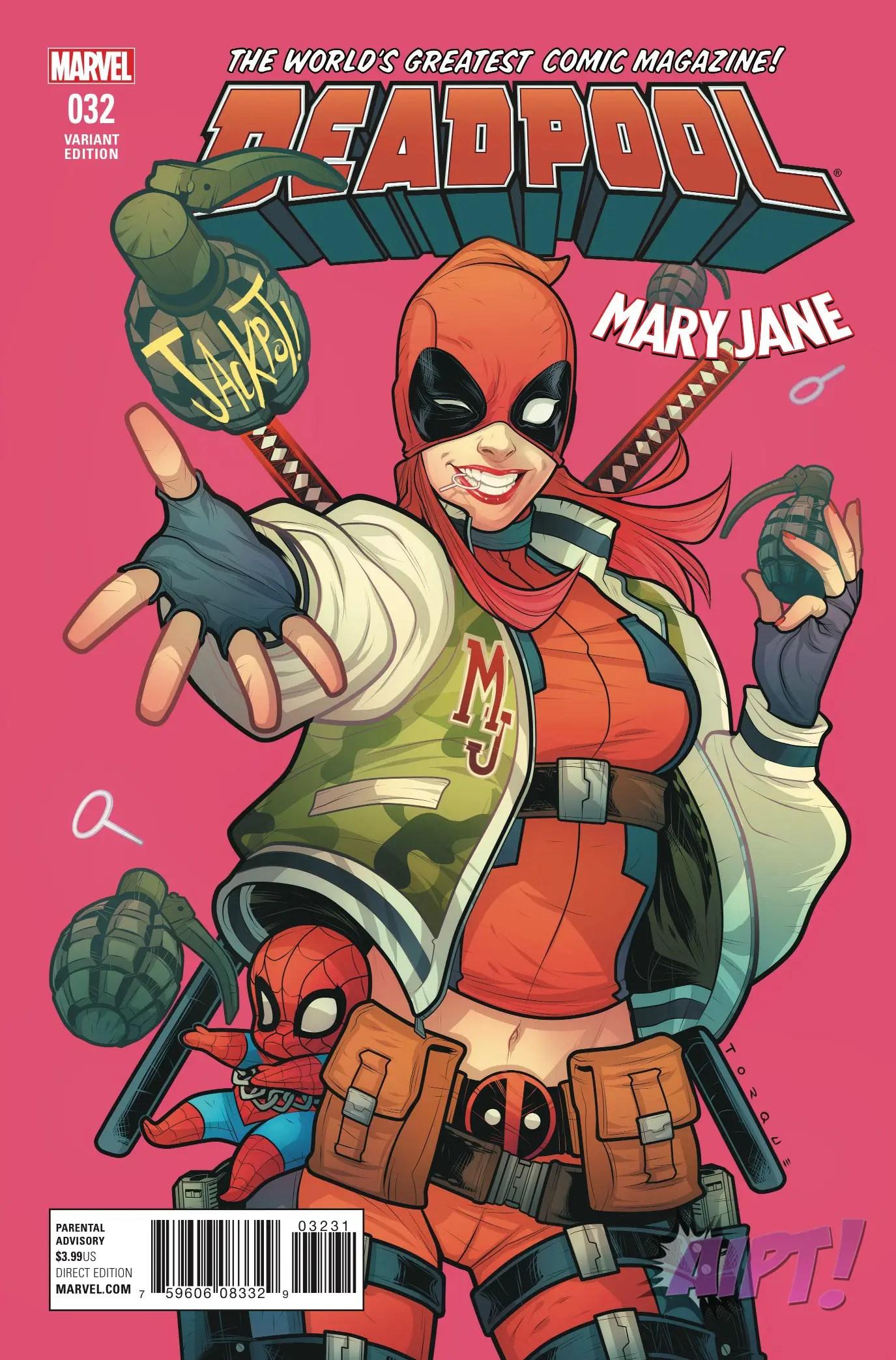 Deadpool #32 Review