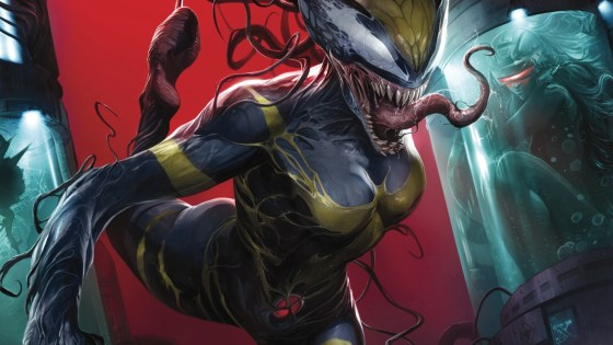 The thought of having Venom spread throughout the Marvel Universe, and thus, creating Venomverse has me eager to read all five of the Edge of Venomverse books, but we'll get to them soon enough. For now, let's take a look at Edge of Venomverse #1.