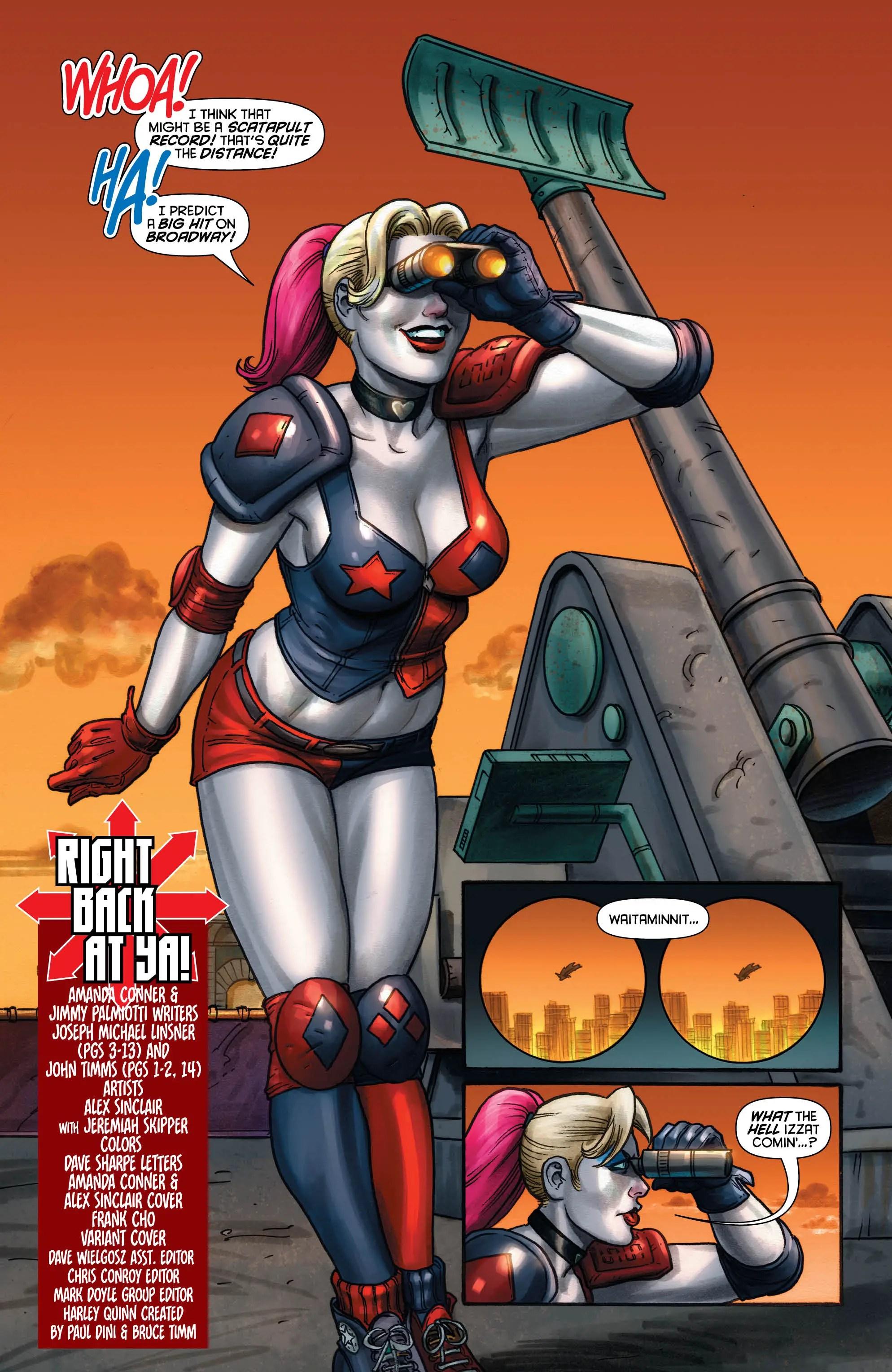 Harley Quinn #21 Review