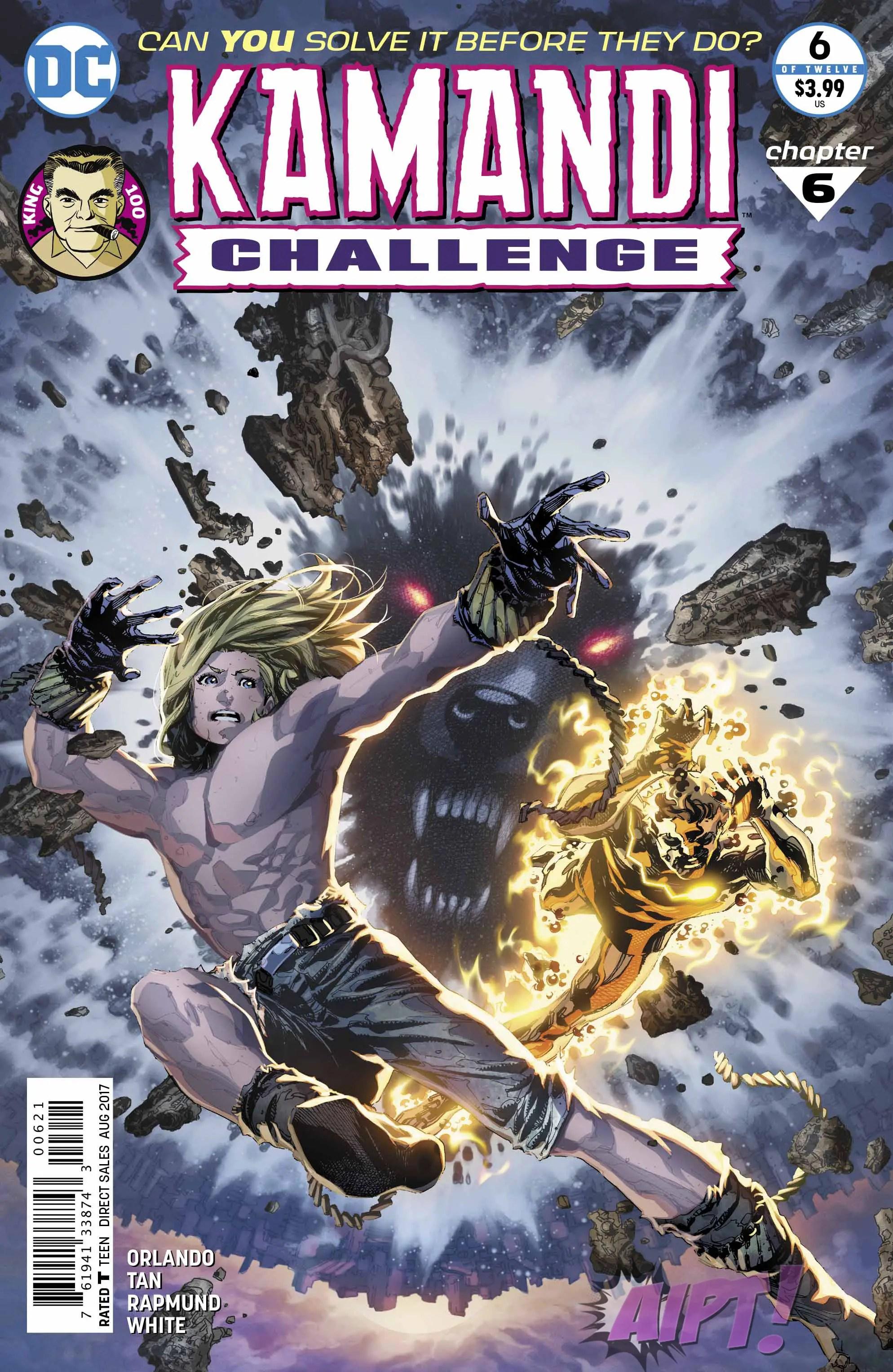 Kamandi Challenge #6 Review