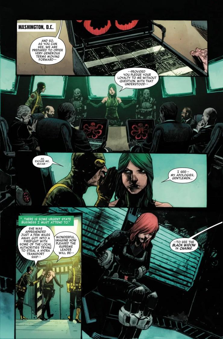 Marvel Preview: Secret Empire #5