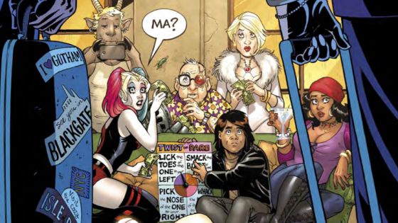 Harley's recently fought off a vigilante from 150 years in the future, escaped being made into dinner at the hands of a cannibal cult and beat an alien with world-conquering ambitions into submission. Her scariest, most daunting task of all is here, though: hosting her parents.