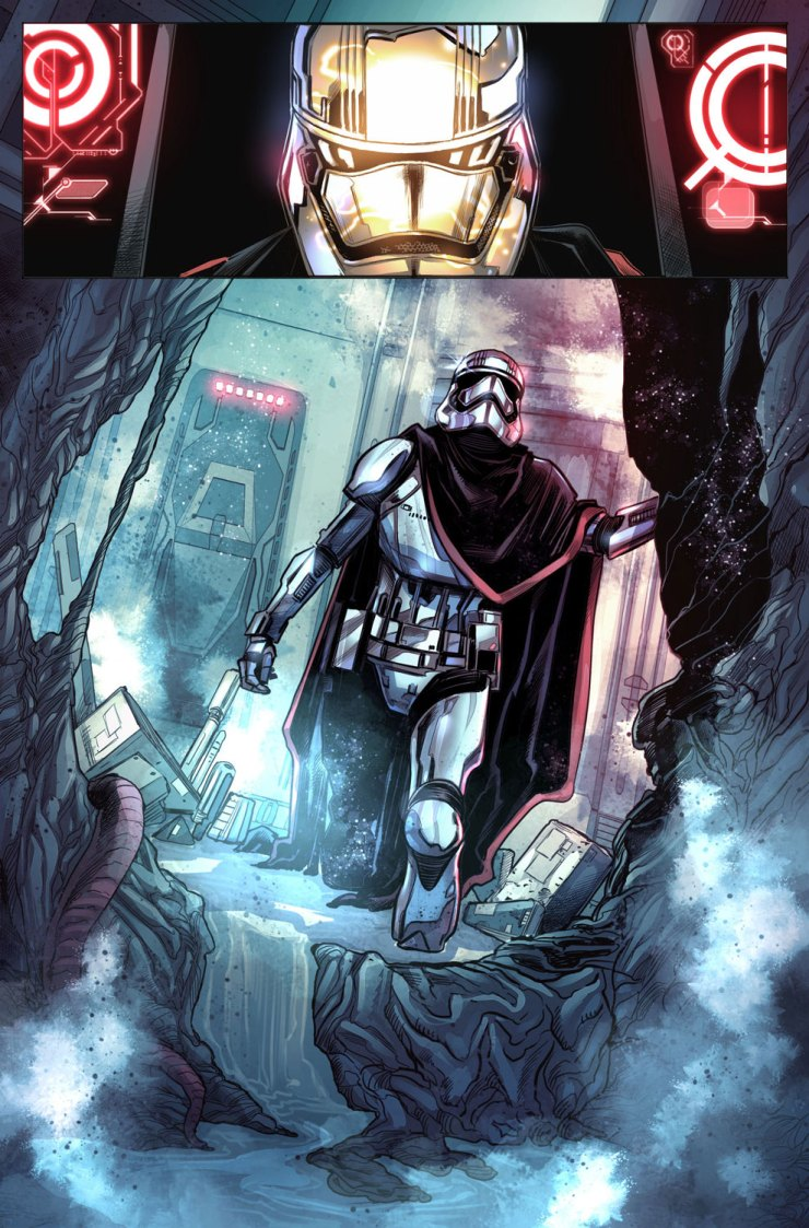 Marvel Preview: Journey to Star Wars: The Last Jedi - Captain Phasma #1