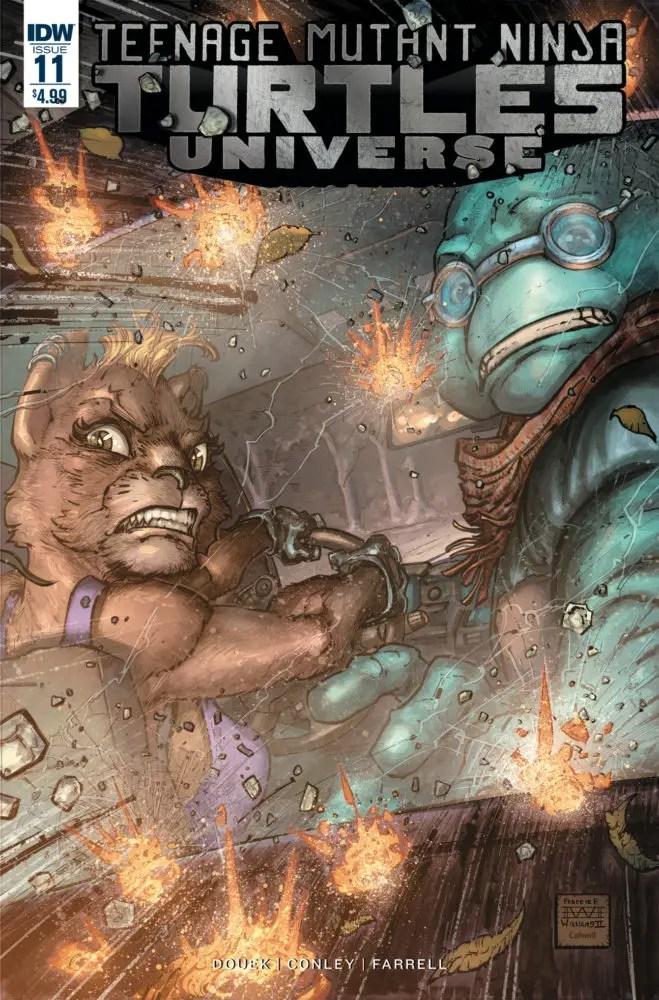 Teenage Mutant Ninja Turtles Universe #11 Review