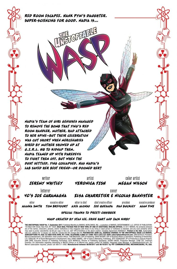 Marvel Preview: The Unstoppable Wasp #7