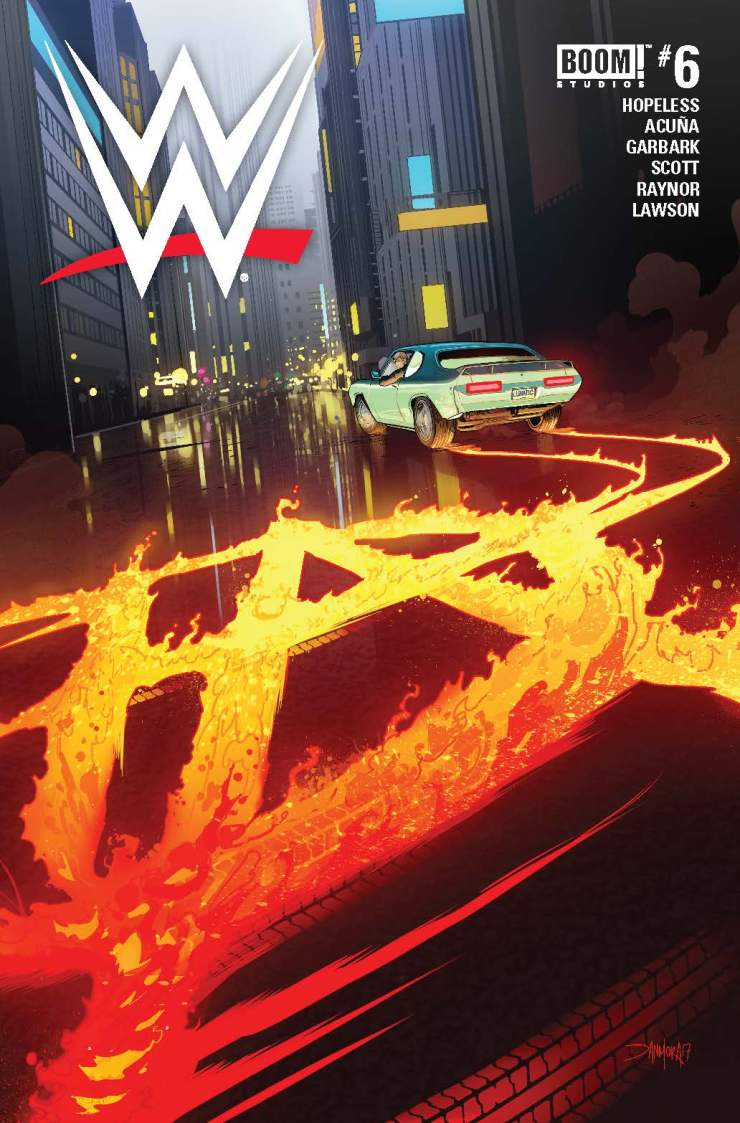 BOOM! Preview: WWE #6