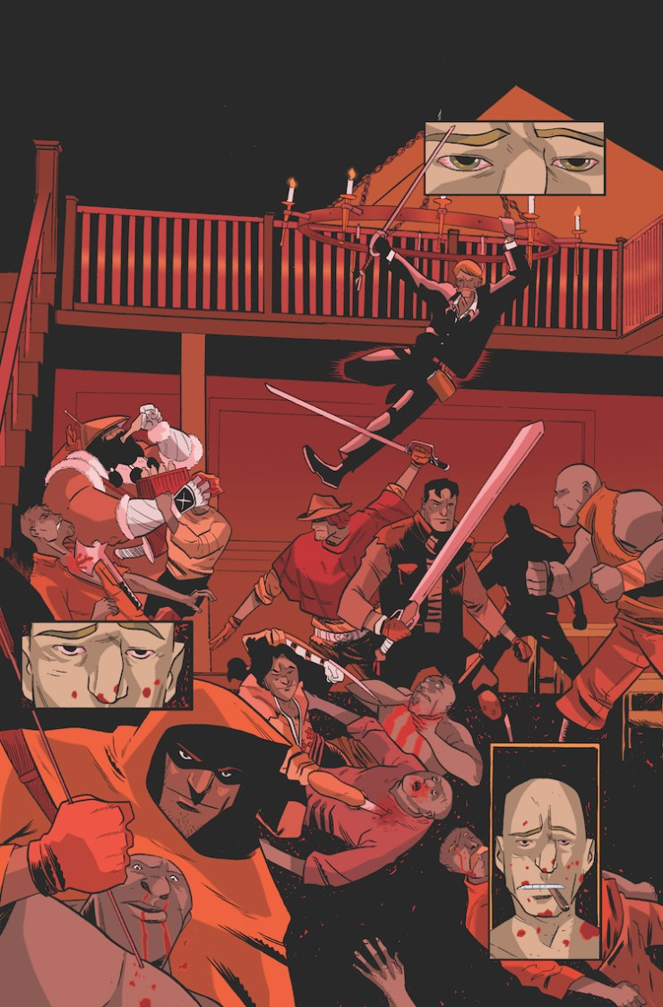 Kickstarter Alert: Chris Massari On Comedy, Kung Fu & His Western Comic 'The Six Swords'