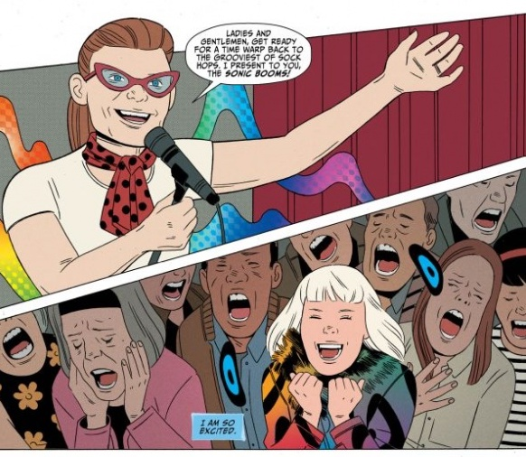 Shade, The Changing Girl #9 Review