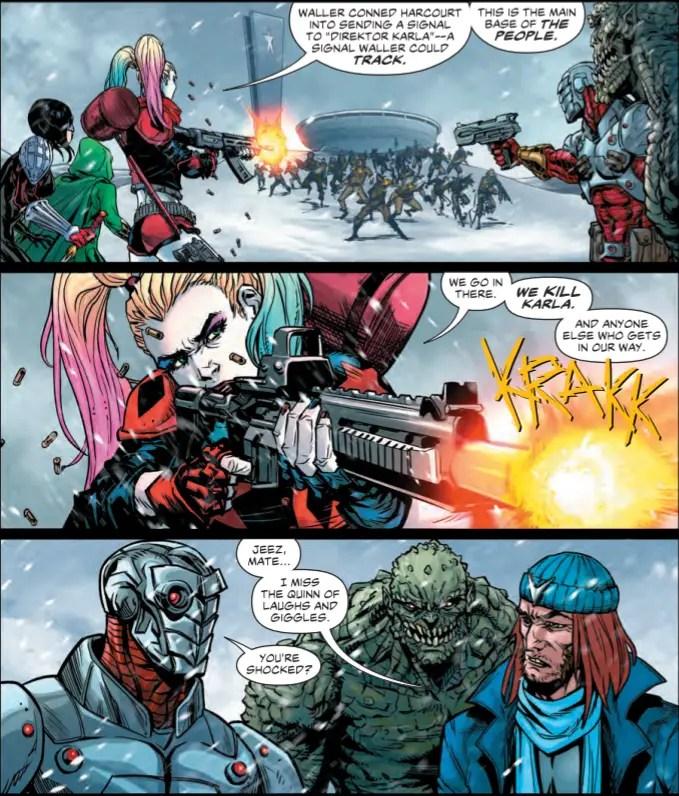 Suicide Squad #21 Review