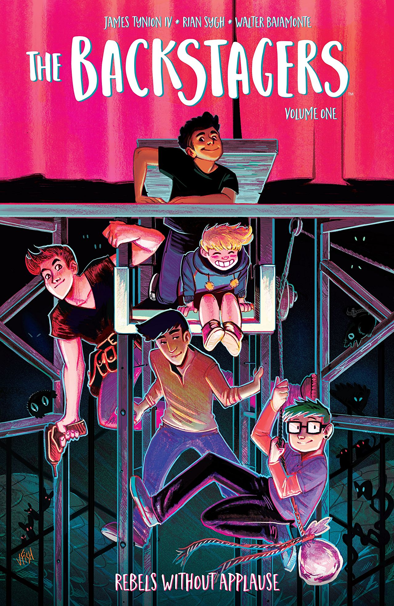'The Backstagers Vol. 1: Rebels Without Applause' is an uplifting experience