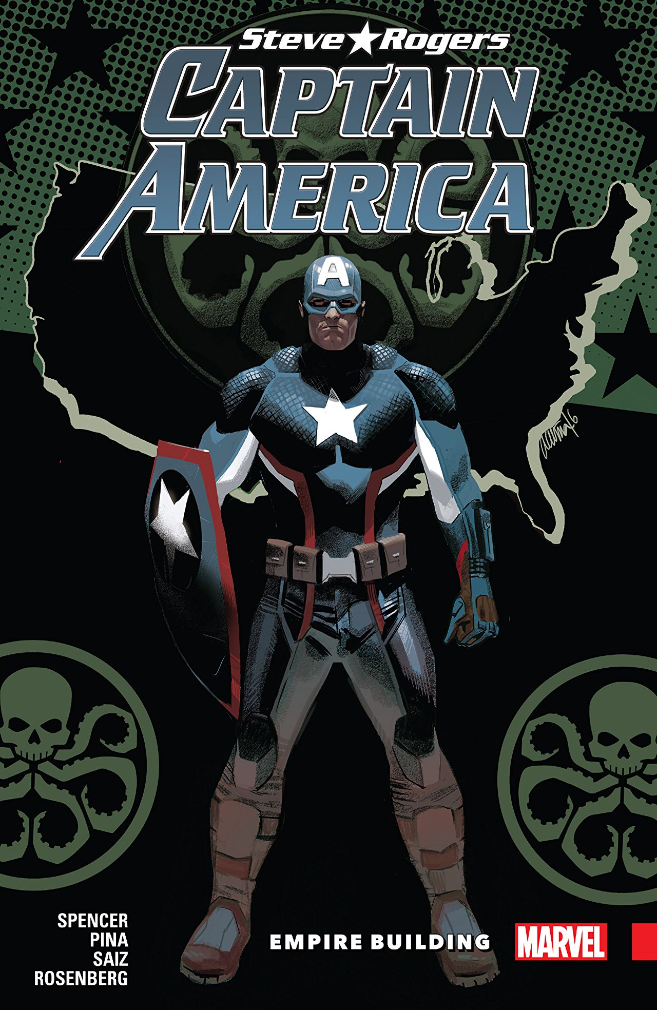 'Captain America: Steve Rogers Vol. 3: Empire Building' review: an anxiety-inducing page-turner