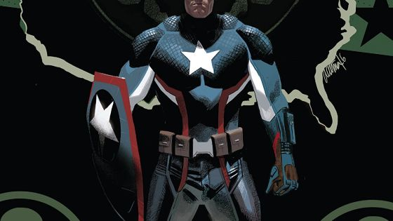 The latest volume in Nick Spencer's controversial 'Captain America' run is quite the page-turner.