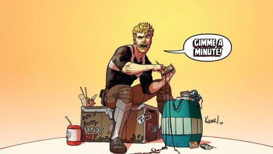 All-New Guardians Of The Galaxy #5 is a Star-Lord focused issue that's all about the music.