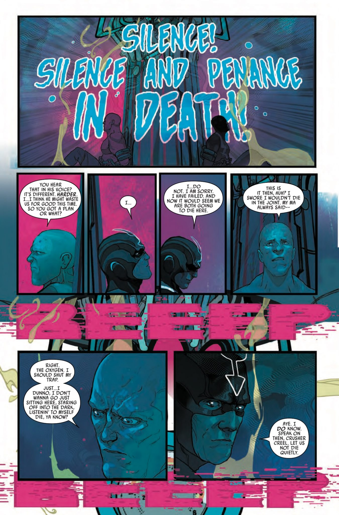 Black Bolt #4 Review
