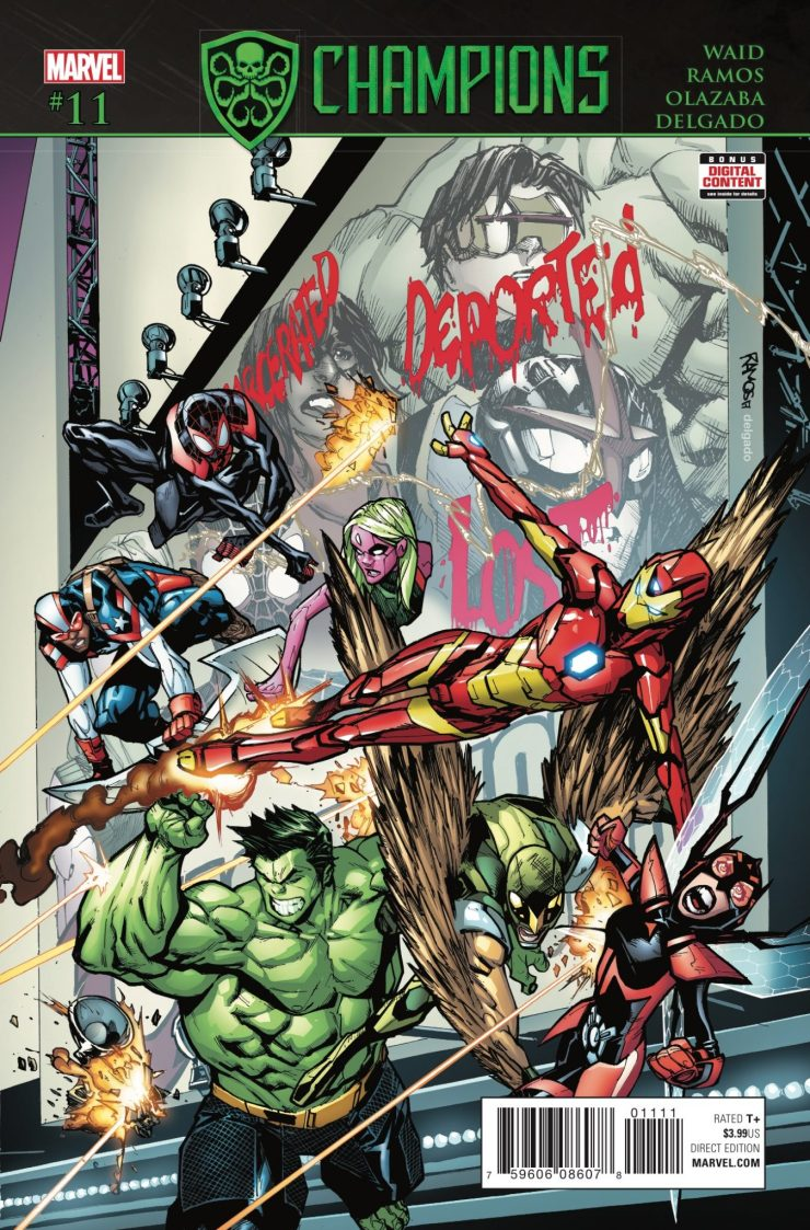 Marvel Preview: Champions #11