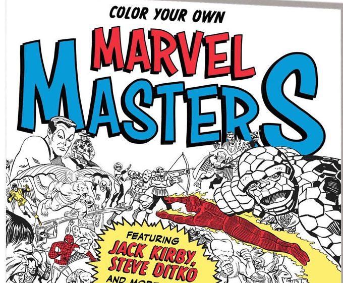 Color Your Own Marvel Masters: Dad-Tested, Kid-Approved