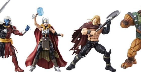 Unboxing/Review: SDCC 2017 exclusive Thor Marvel Legends set