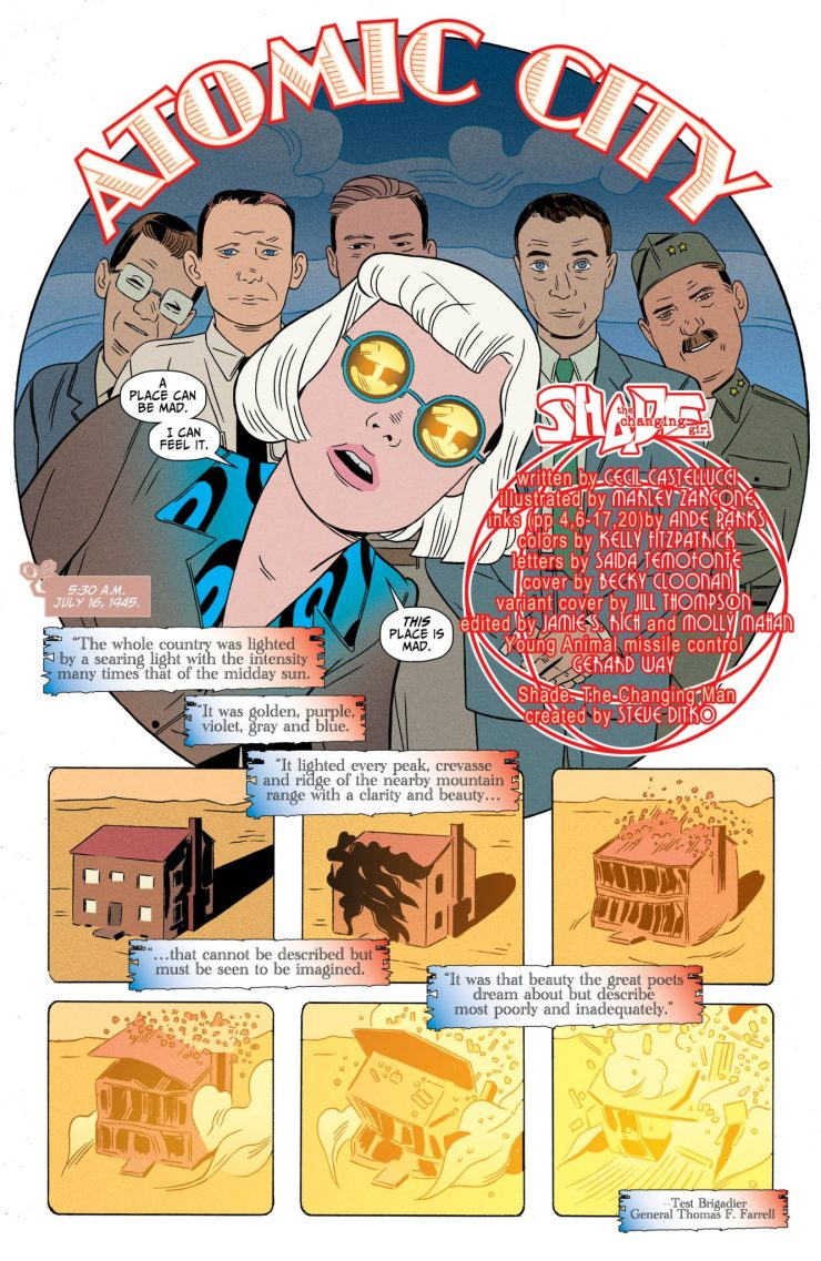 Shade, the Changing Girl #10 review