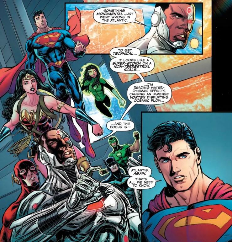 Justice League #24 Review