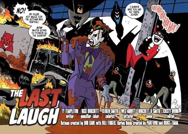 Harley Quinn and Batman #1 Review
