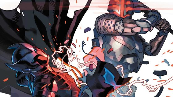 Azrael faces off with Batwoman and Cassandra in a knock-down, drag out brawl for the ages.